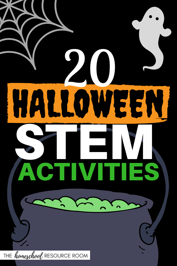 20 FUN Halloween STEM Activities!